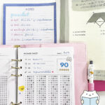 Study Planner Refill Paper Cover