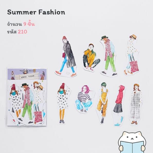 สติกเกอร์ Fashionista – 210
