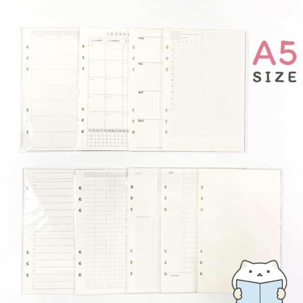กระดาษรีฟิล Minimal – 3 A5