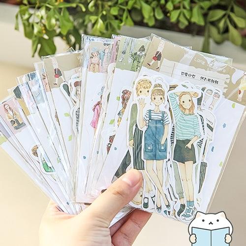 สติกเกอร์ Fashionista – 3 Pocket