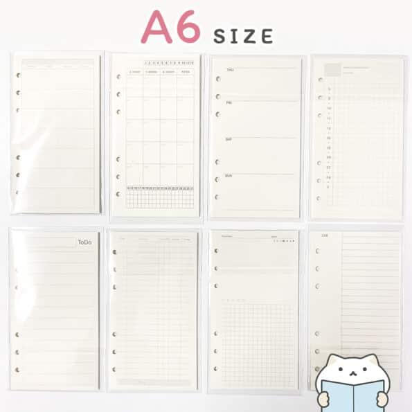 กระดาษรีฟิล Minimal – 4 A6