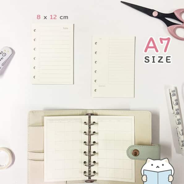 กระดาษรีฟิล Minimal – 5 A7