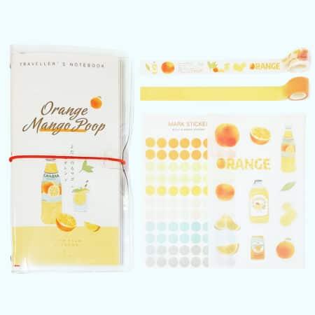 สมุดบันทึกการเดินทาง Fruit Boxset