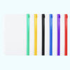 ซองซิป 6 รู ขอบสี