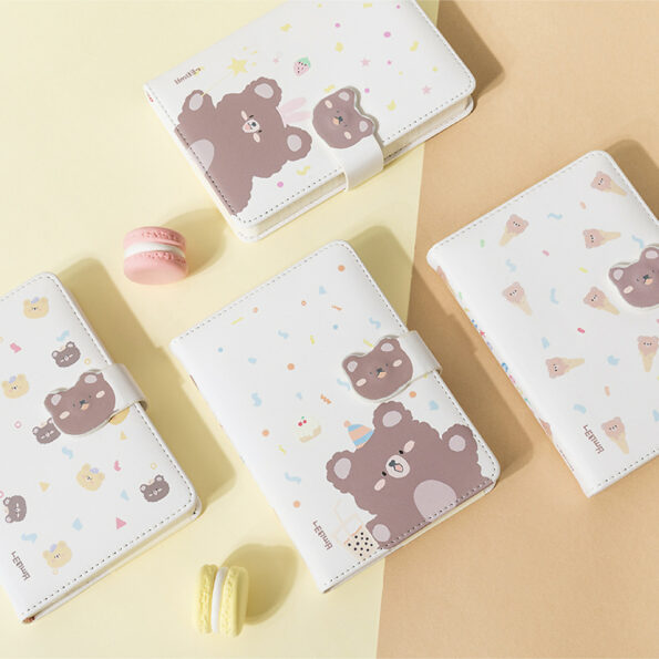 Cute Bear Monthly Planner – 8
