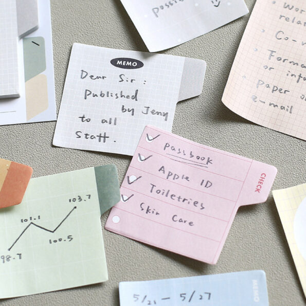 Note For Tab Index Sticky Note 6