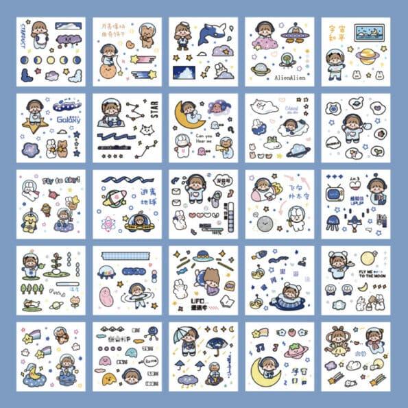 Sticker Box Set Big Adventure4