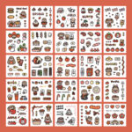 Sticker Box Set Boom1