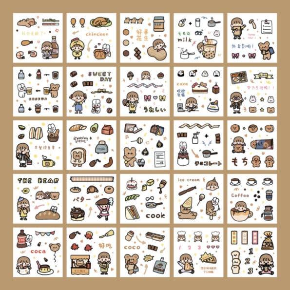 Sticker Box Set Boom6