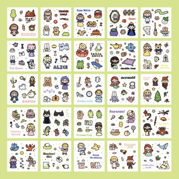 Sticker Box Set Fairy Tale3