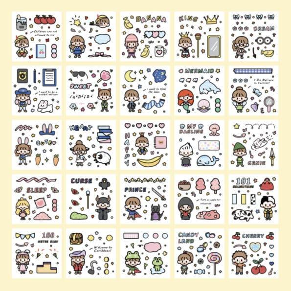 Sticker Box Set Fairy Tale4
