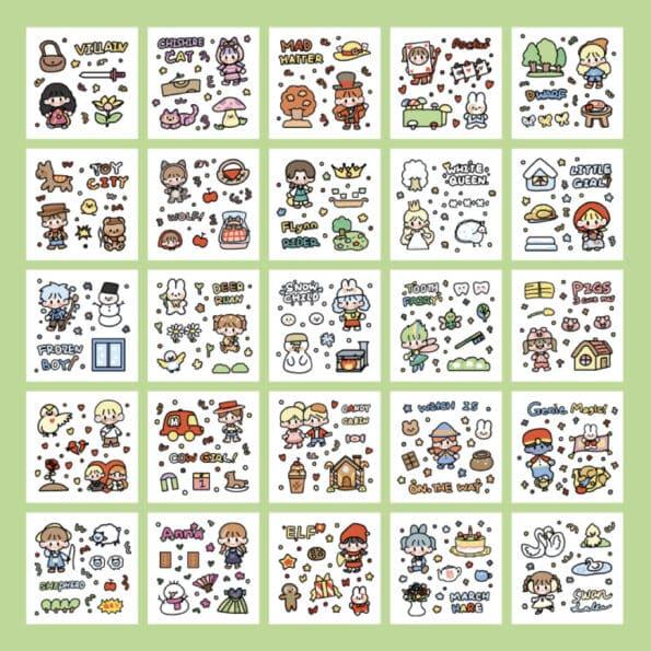 Sticker Box Set Fairy Tale5