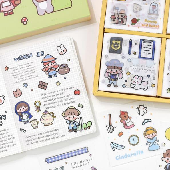 Sticker Box Set Fairy Tale8
