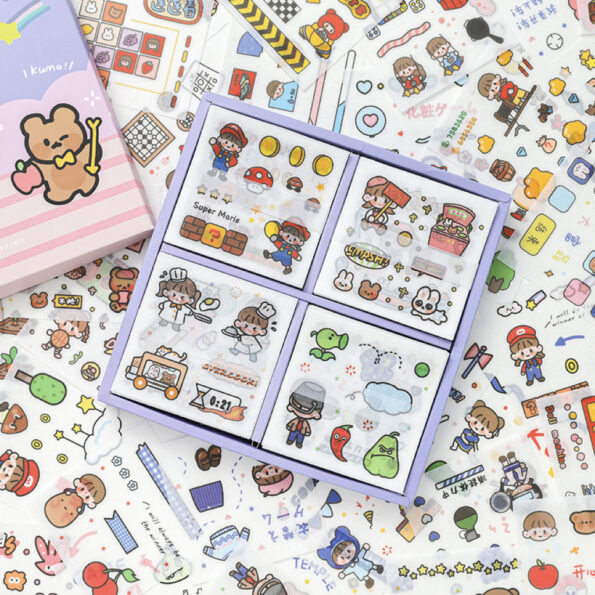 Sticker Box Set Game Time2