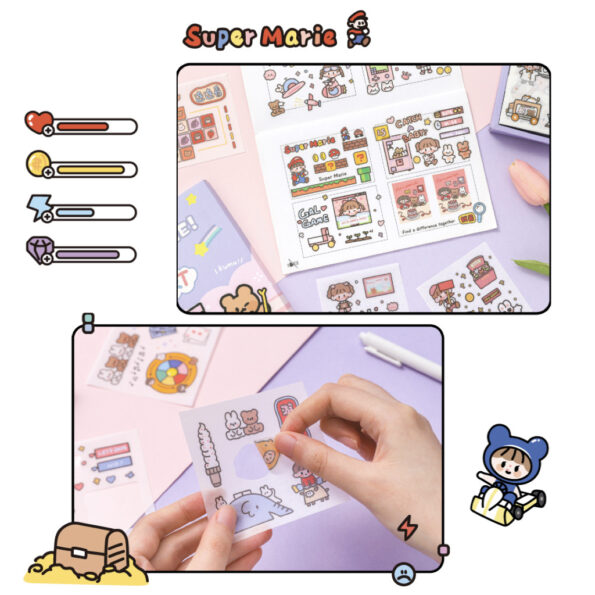 Sticker Box Set Game Time7
