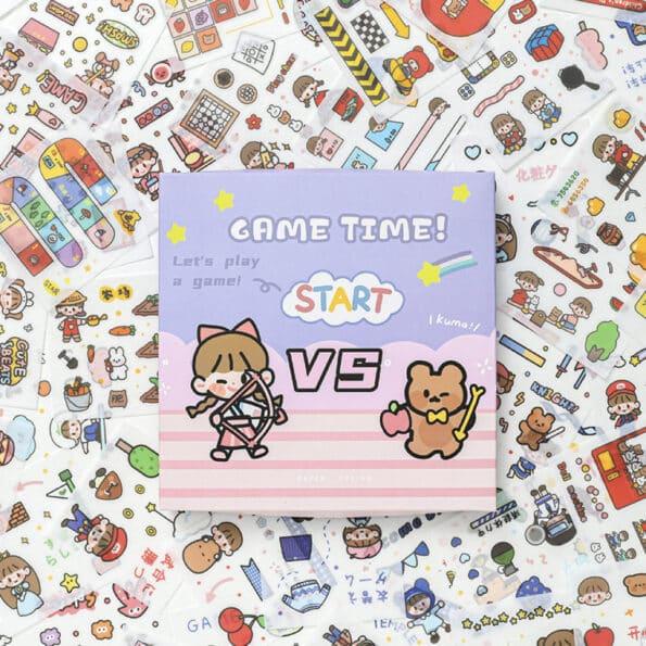 Sticker Box Set Game Time9