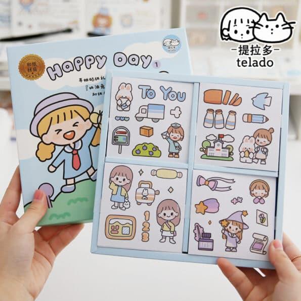 Sticker Box Set Happy Day N1.002
