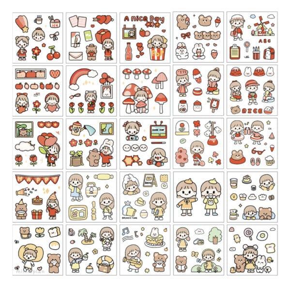 Sticker Box Set Happy Day N1.004