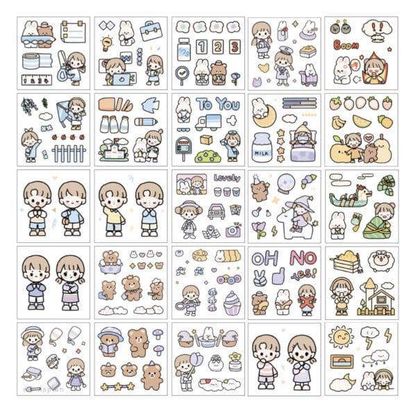 Sticker Box Set Happy Day N1.006