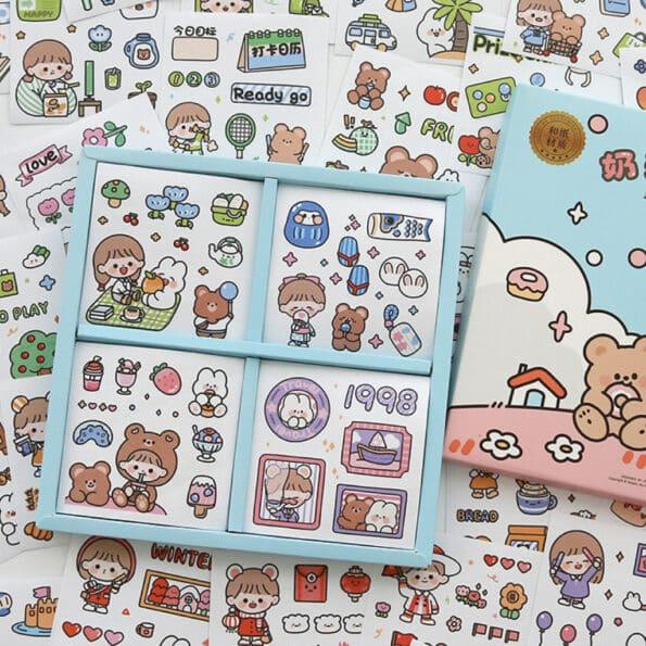 Sticker Box Set Happy Day N2.002