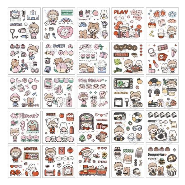 Sticker Box Set Happy Day N2.003