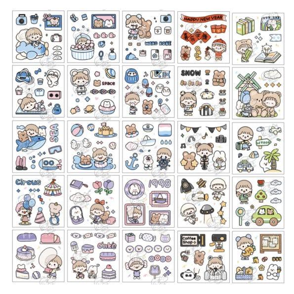 Sticker Box Set Happy Day N2.004