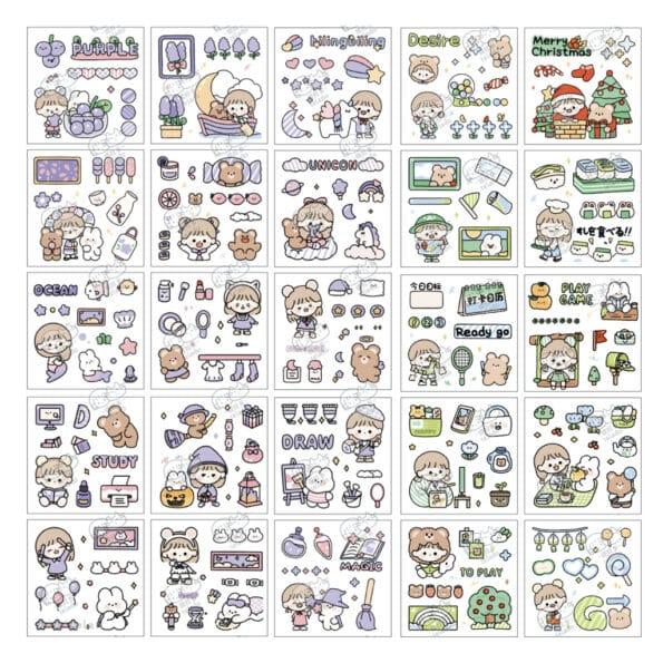 Sticker Box Set Happy Day N2.005
