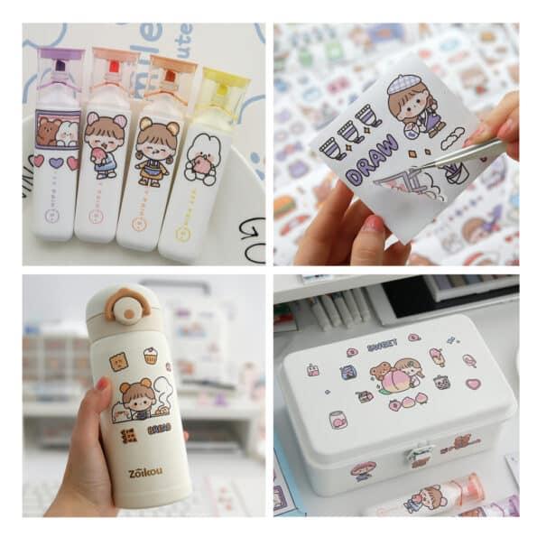 Sticker Box Set Happy Day N2.007
