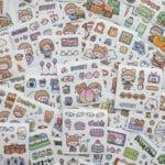 Sticker Box Set Happy Day N2.001