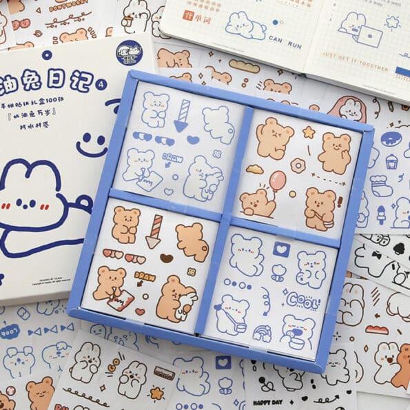 Sticker Box Set Happy Day N4.002