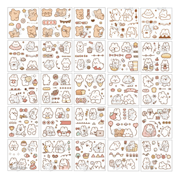 Sticker Box Set Happy Day N4.004