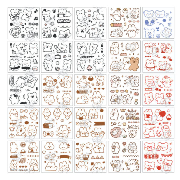 Sticker Box Set Happy Day N4.006
