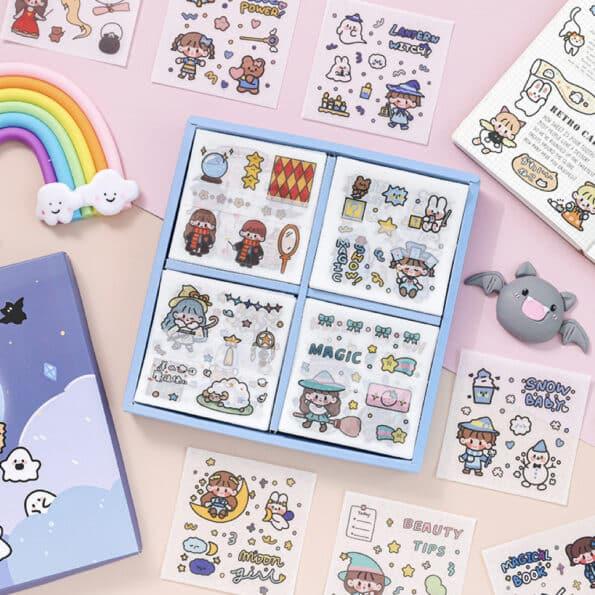 Sticker Box Set Magic World2