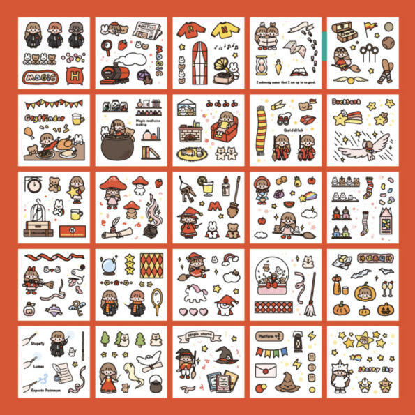 Sticker Box Set Magic World3