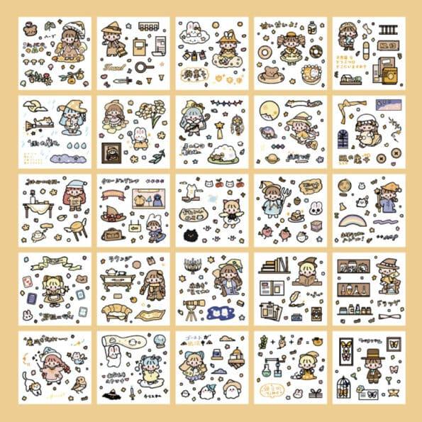 Sticker Box Set Magic World4