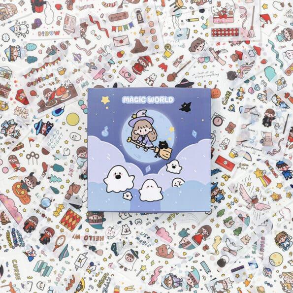 Sticker Box Set Magic World9