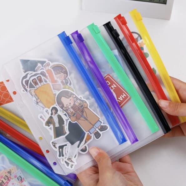 Color Zip Pocket – 001