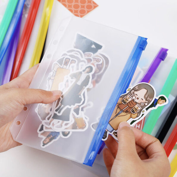 Color Zip Pocket – 003