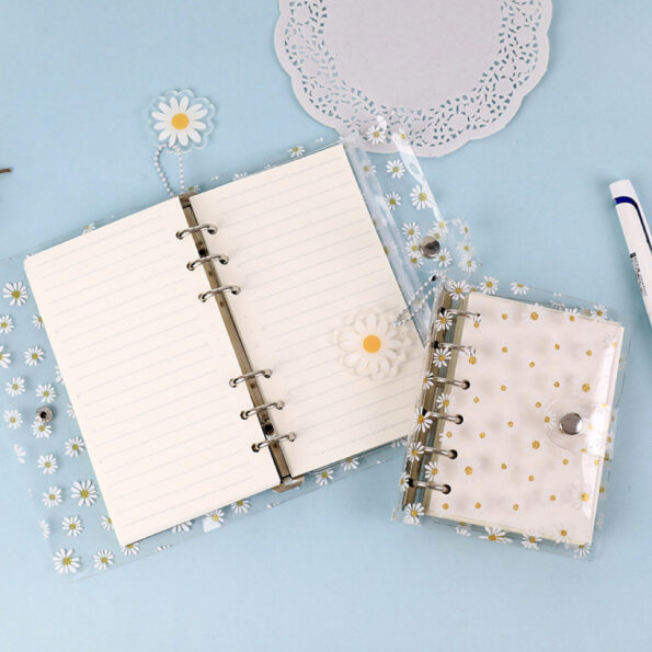 Daisy Clear Planner Cover 6