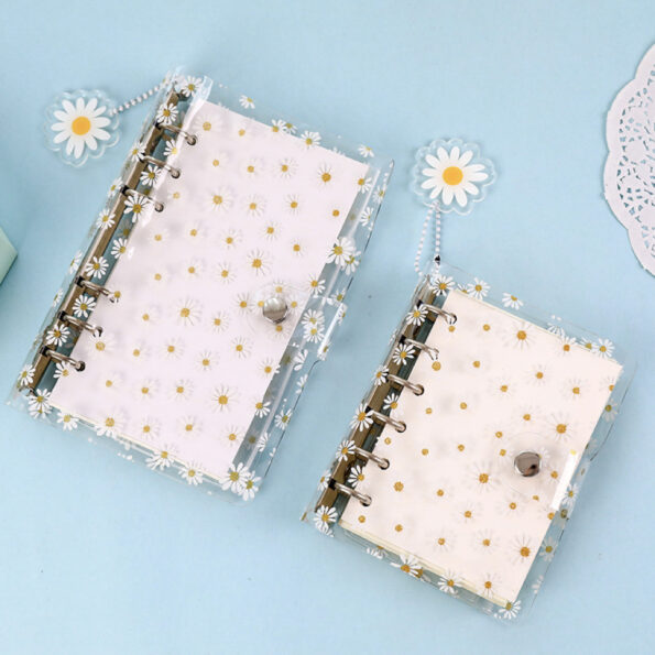 Daisy Clear Planner Cover 7