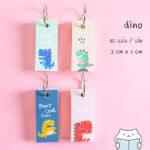 สมุดจดศัพท์ Good Little Dino – 2 Cover – Web