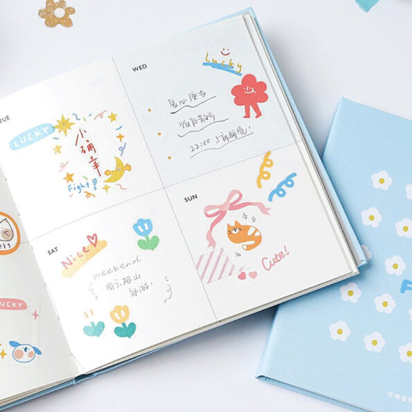 Daydreamer Cube Weekly Planner.008