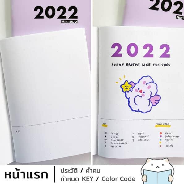 Mini Bujo 2022 – 2 Key