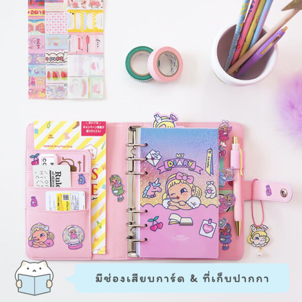 Bentoy Candy Girl Planner Set.003