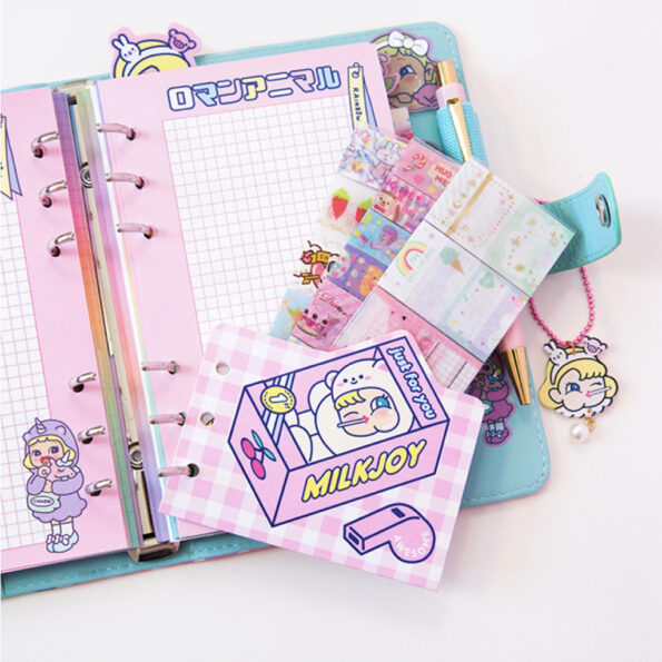 Bentoy Candy Girl Planner Set.006