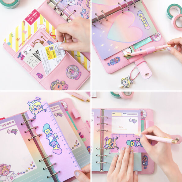 Bentoy Candy Girl Planner Set.008