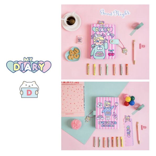 Bentoy Candy Girl Planner Set.017