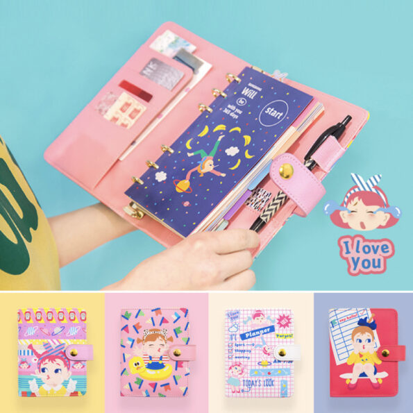 Bentoy Cute Girl Planner Set.008