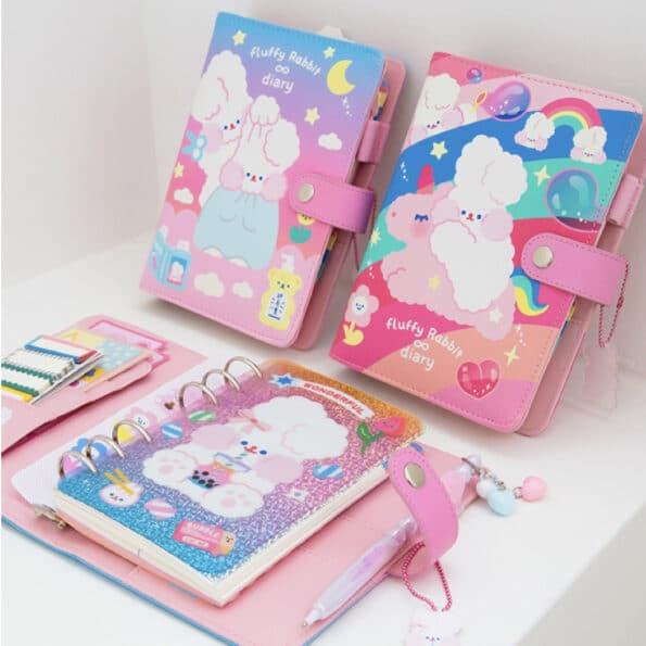 Bentoy Fluffy Rabbit Planner Set 1