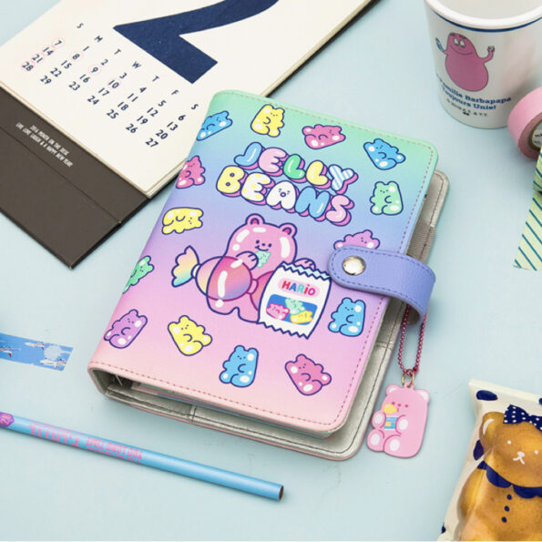 Bentoy Jelly Beans Bear Planner Set .009